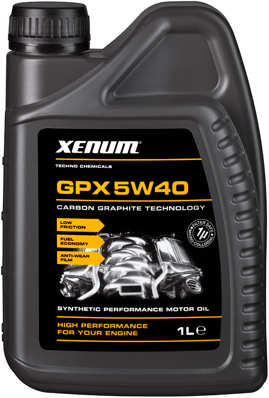 Моторное масло Xenum GPX 5W40 1 л (1136001)